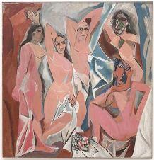 Les_Demoiselles_d'Avignon Picasso